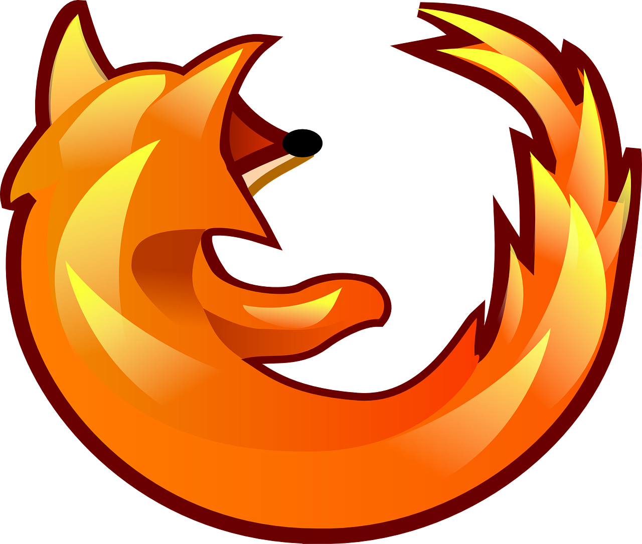 Firefox Fox Browser Logo Icon  - Clker-Free-Vector-Images / Pixabay